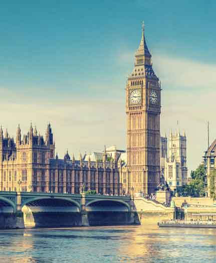 London 15% off your 3 night stay poster.